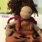 "Elena - 26cm/10"" Natural Cloth Doll"