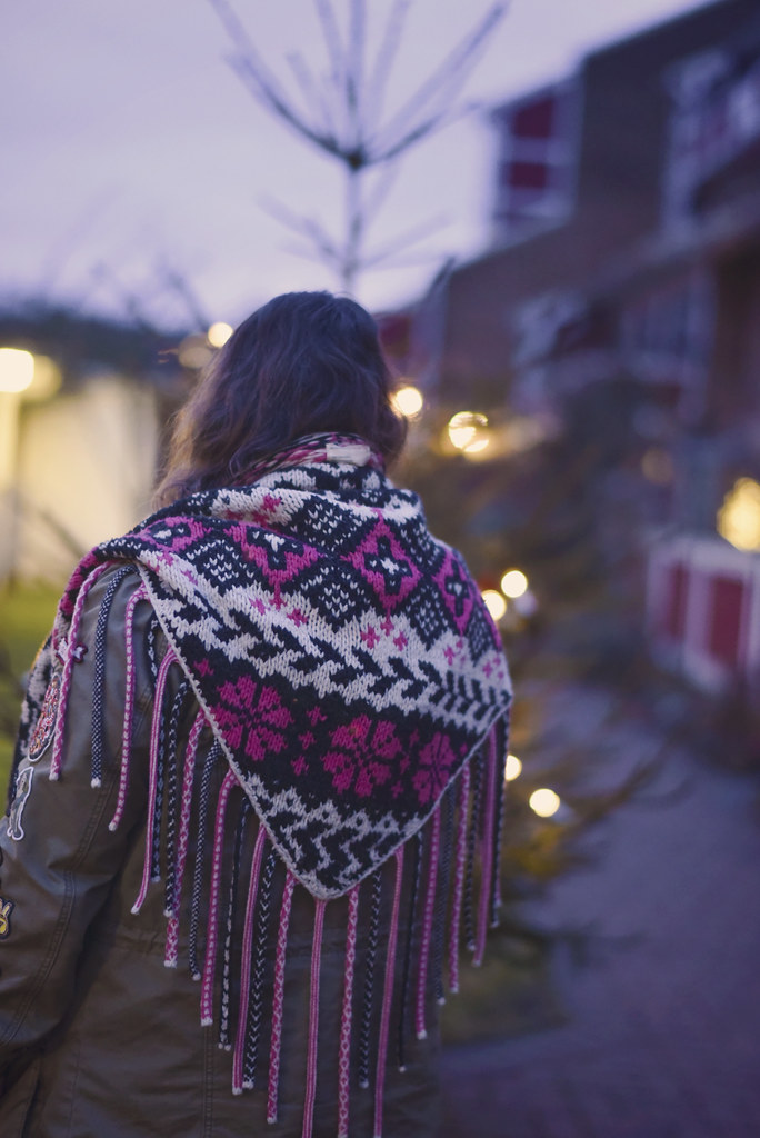 Babuscka shawl Odd Molly