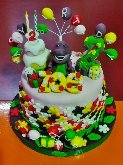 Barney The Dinosaur Cake Flickr Photo Sharing
