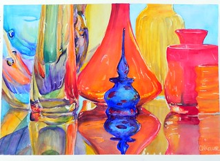 Glass and Shiny Things workshop with Paul Jackson | by Cheryl Nelson Kellar