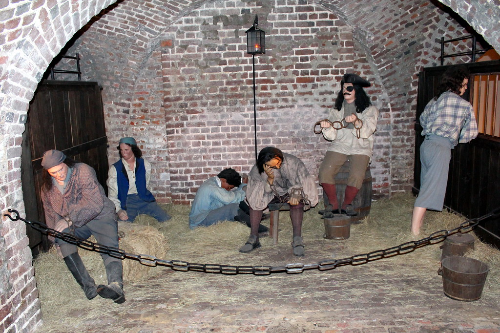 Charleston: Old Exchange and Provost Dungeon - | The ...