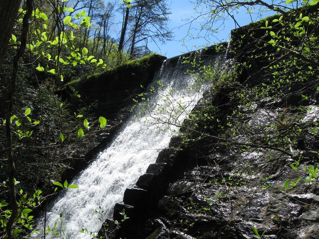 Mountain Lake Dam Paris Mountain State Park Mountain