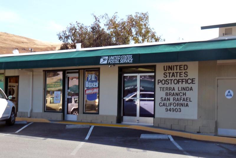 San Rafael, CA: Terra Linda Station post office   Marin ...