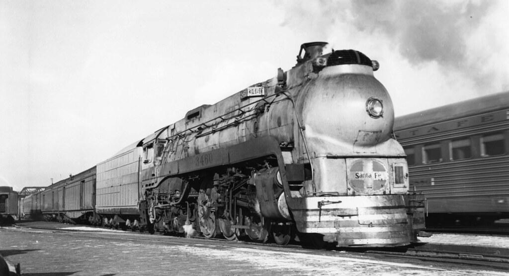 Santa Fe Blue Goose Streator Il 12 25 1948 Bill Raia