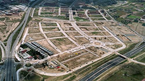 Fuenlabrada foto aerea del barrio del vivero for Vivero fuenlabrada