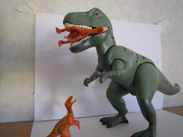 Playmobil trex flickr photo sharing - Dinosaur playmobile ...