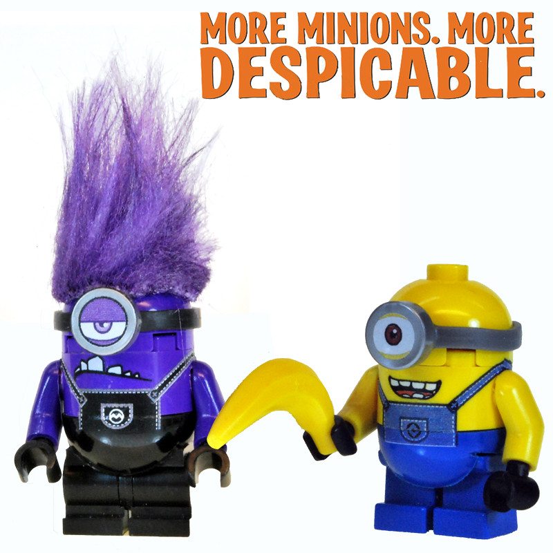 Evil Purple MINION | Just finished creating the evil ...