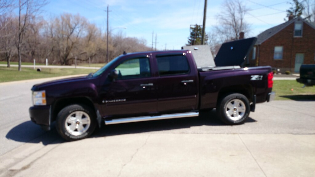 Chevy Silverado  Crew Cab Long Bed