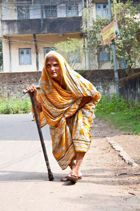 Old Age Lady - Kolkata (Calcutta)