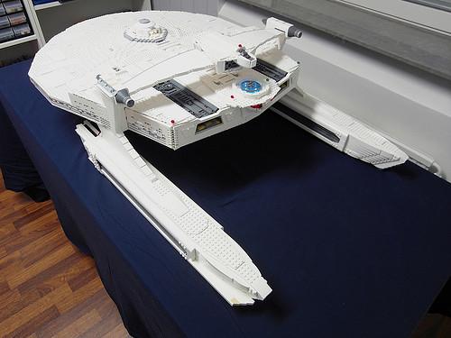 Star Trek USS Reliant in Lego by Myko
