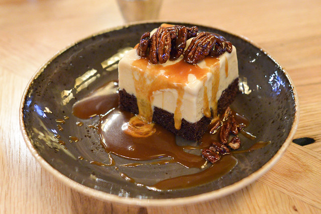 Turtle Ice Cream Cake pecans, salted caramel, chocolate