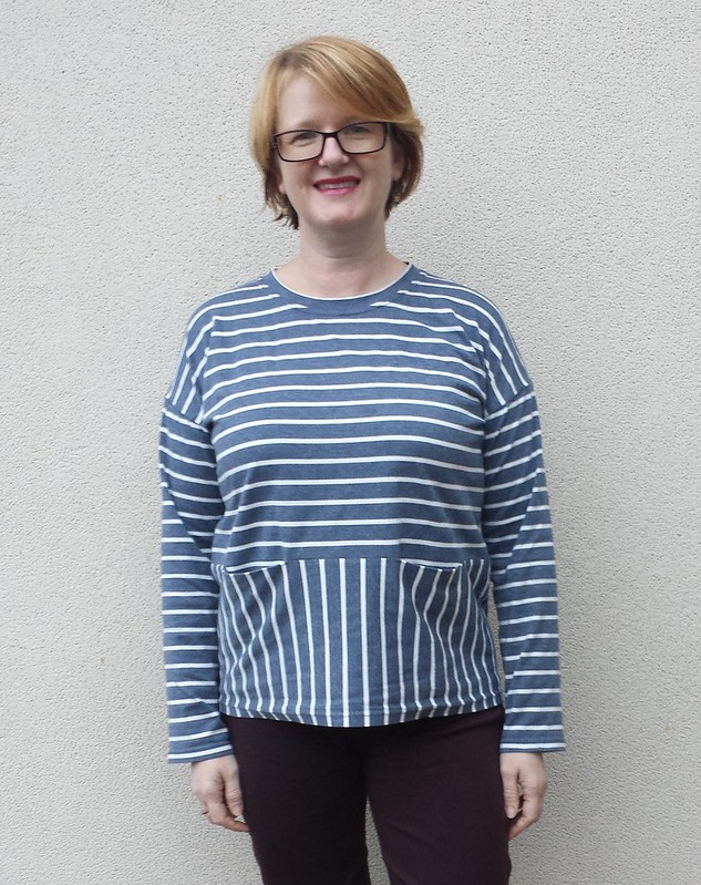Liesl + Co Bento tee in knit from Clear It