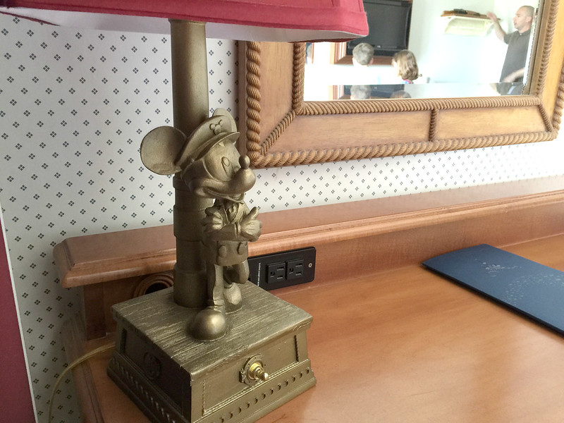 Disney's Yacht Club Room Mickey