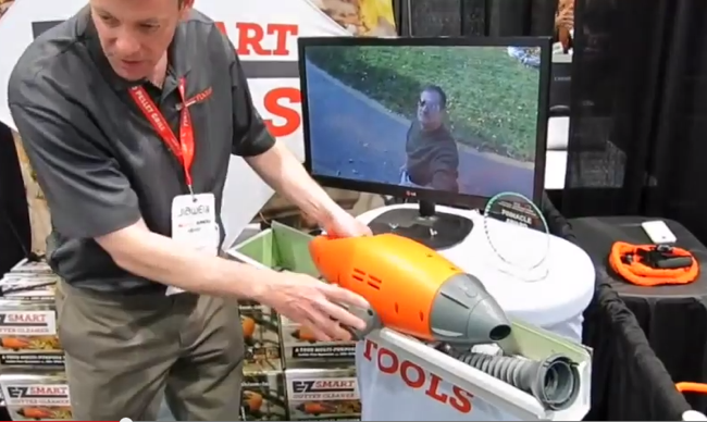 The EZsmart Gutter Cleaner is true multi-tool that can be used all year-round