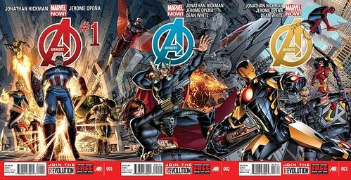 Marvel NOW! Avengers 1