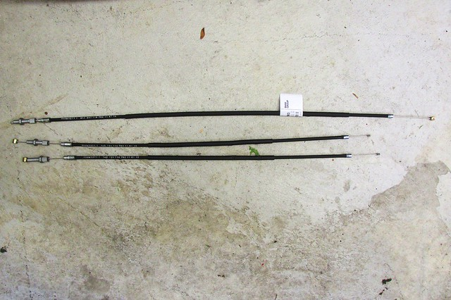 Choke Cables-Long is Handlebar Cable