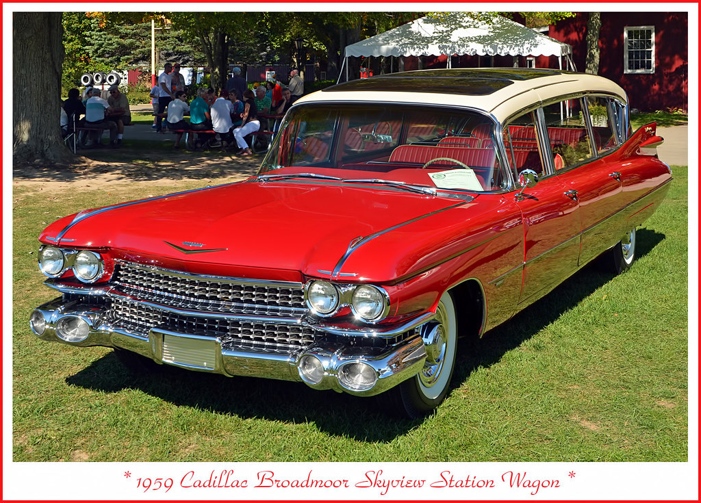 1959 Cadillac Broadmoor Skyview Station Wagon September