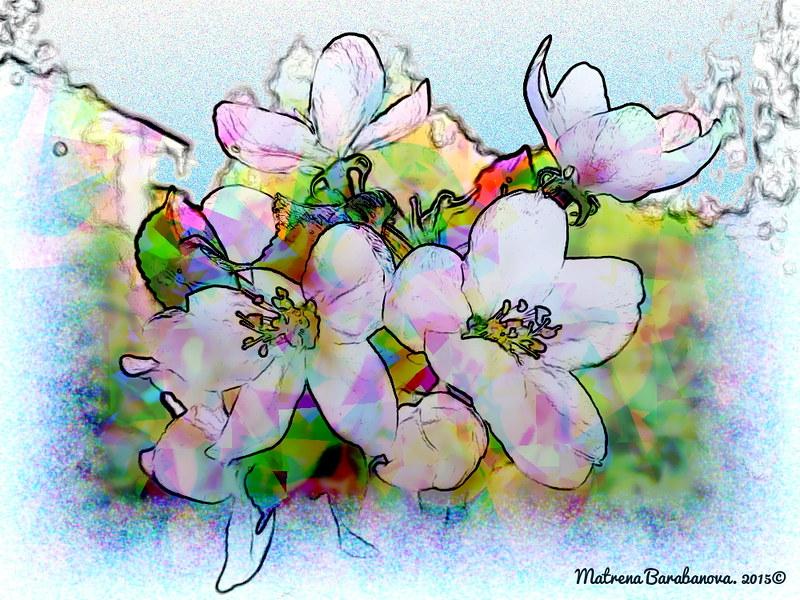 фантазийные цветы