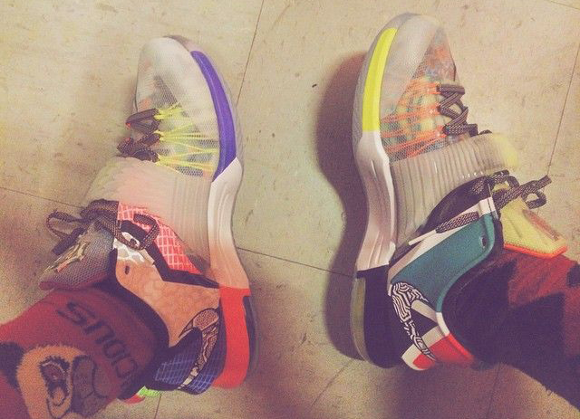 On Feet Look at the Nike KD 7 'What The' 5