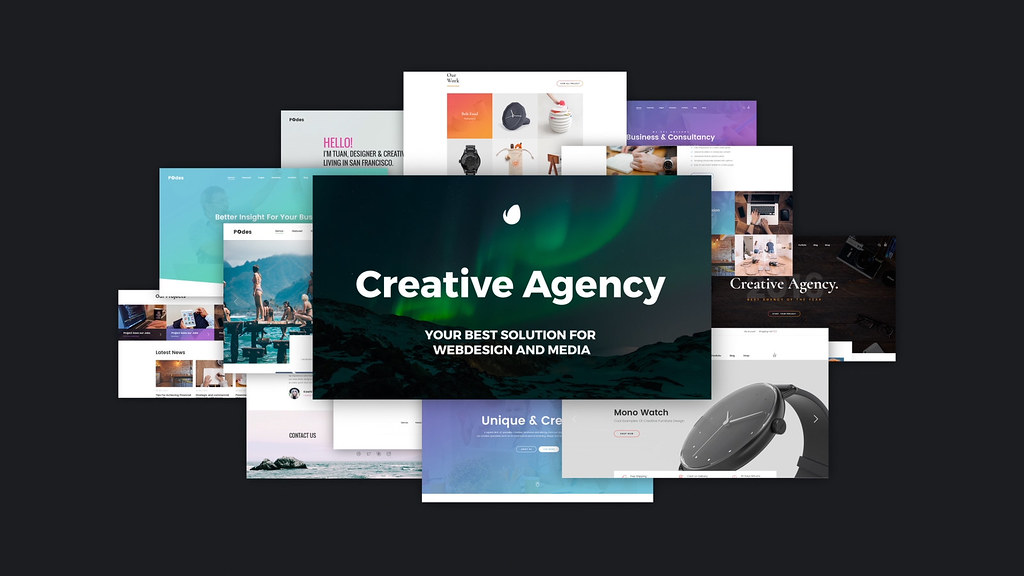 Creative Agency // Website Presentation by Nullifier | VideoHive