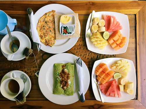 Ubud breakfast airbnb