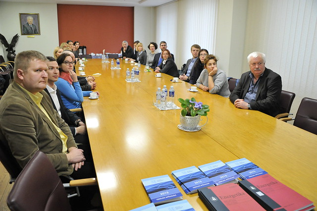 Energetikos ministerijos atstovų vizitas LEI