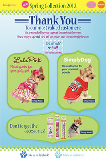 Dog Spring Collection 2012 | by SimplySheInc