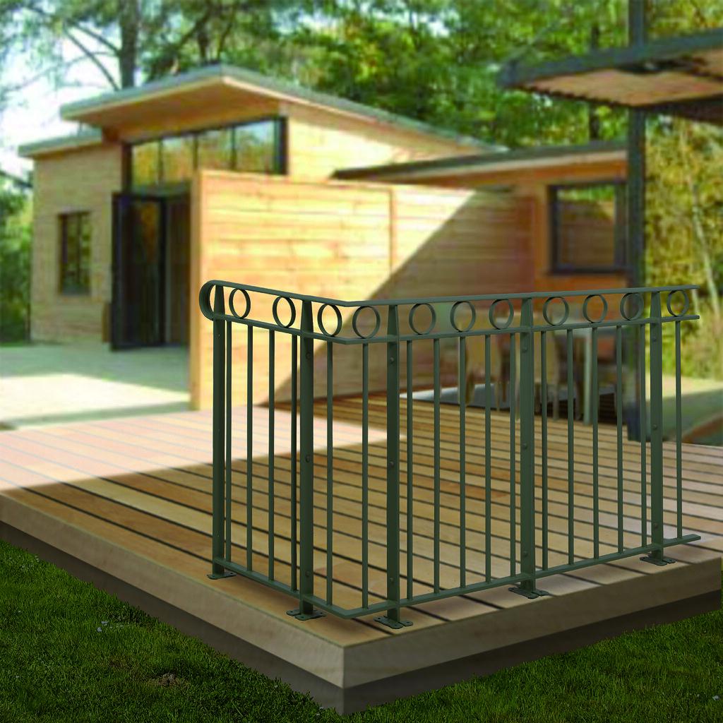 garde corps acier galvanise princeton roy garde. Black Bedroom Furniture Sets. Home Design Ideas