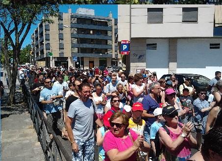 Marcha a la piscina de verano 15 m valdemoro for Piscina de valdemoro