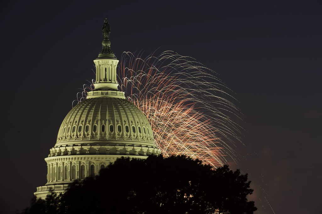 July 4, 2013 Fireworks over the Capitol
