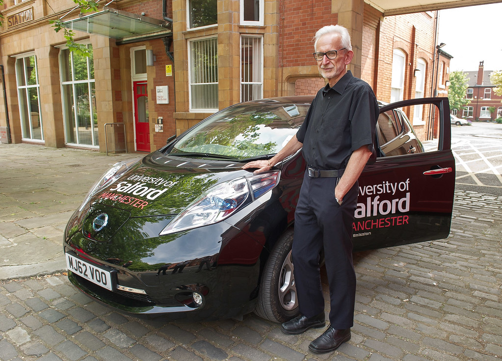 University's green credentials motor ahead with electric c