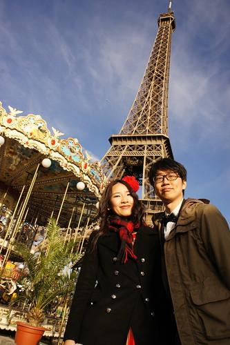 婚紗拍拍 - 巴黎鐵塔