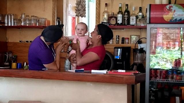 Isla Taboga restaurant