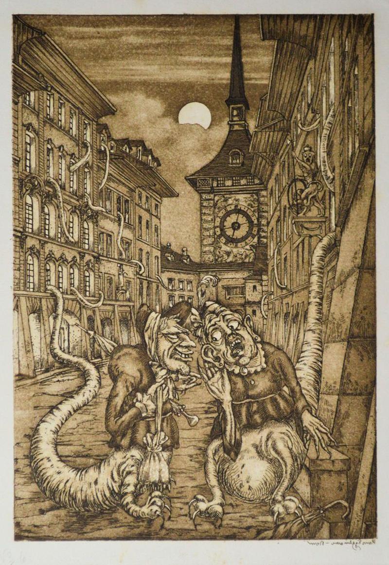 Hans Eggimann - Gossip, 1923