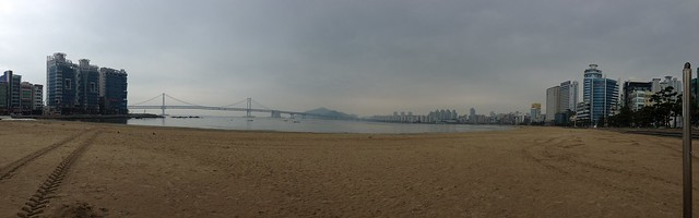 Panoramic at Gwangalli Beach