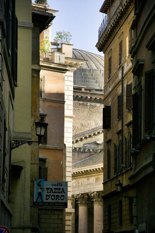 Pantheon Rome Tazza d'Oro