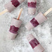 vegan blueberry pops