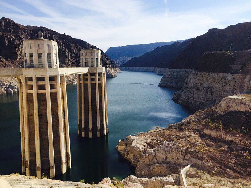 Hoover Dam: Lake Mead at lowest level since 1937 (when it was filling for the first time)