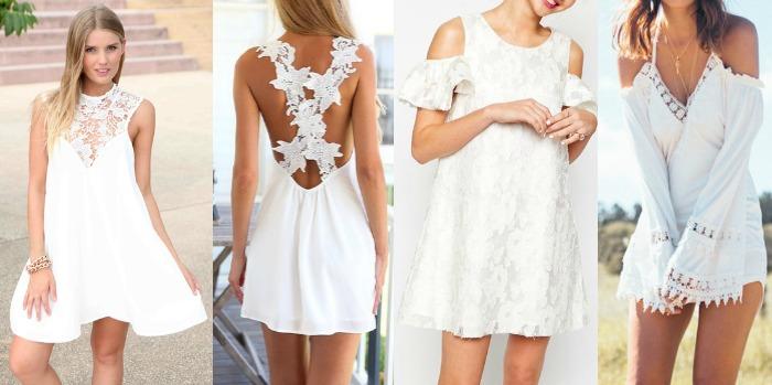 vestidos blancos verano