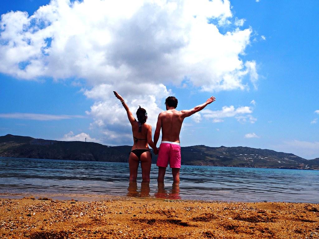 Agios Sostis beach Mykonos 3