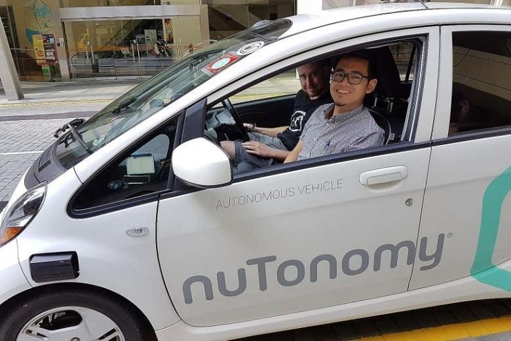 World's first! Singapore companies before the Uber launched unmanned taxi