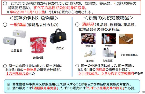 5 2016年日本免稅退稅新制