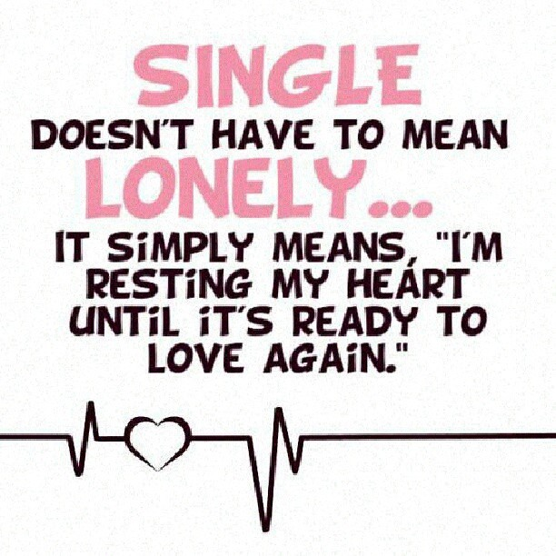 #single #lonely #brokenheart #heart #love #romance #PinQuo ...