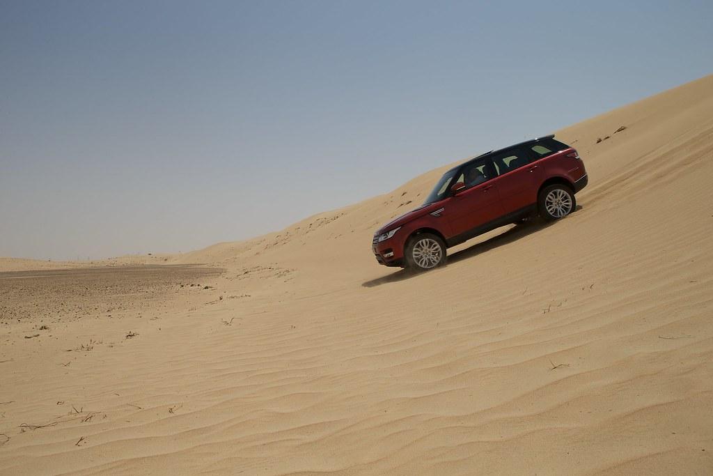 All New Range Rover Sport Media Ride Amp Drive Dubai Uae
