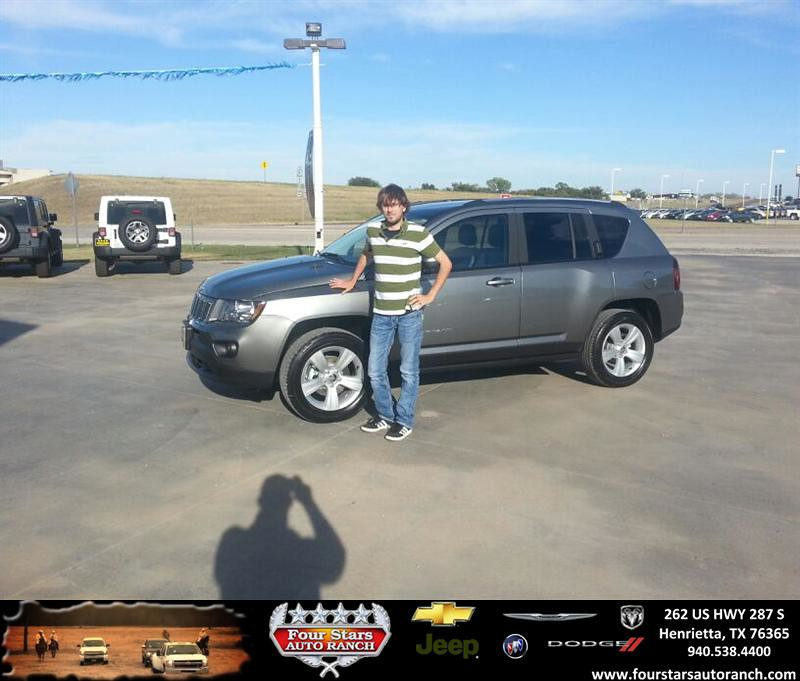 Four Stars Auto Ranch >> Thank you to Jacob Hill on your new 2014 #Jeep #Compass fr… | Flickr