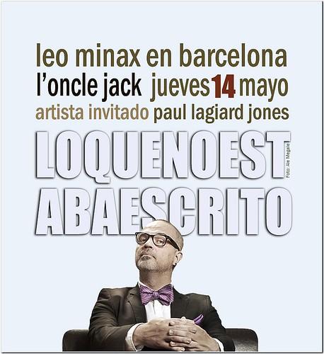LEO MINAX en Barcelona