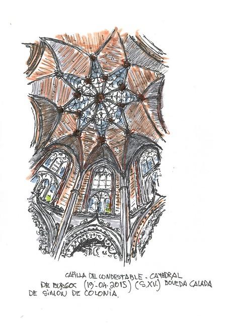 Burgos. Capilla de los Condestables en la Catedral