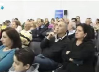 Lebanese token book press event