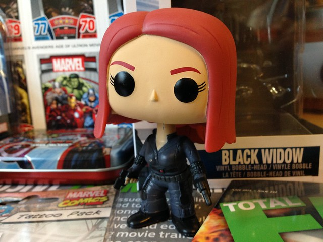 Marvel Comics Zavvi ZBOX, May 2015 Funko Pop! Black Widow