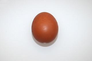 13 - Zutat Hühnerei / Ingredient egg
